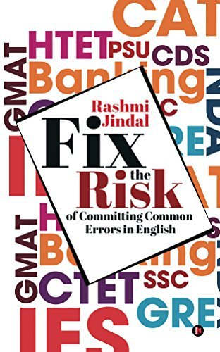 fix the risk of committing errors in English