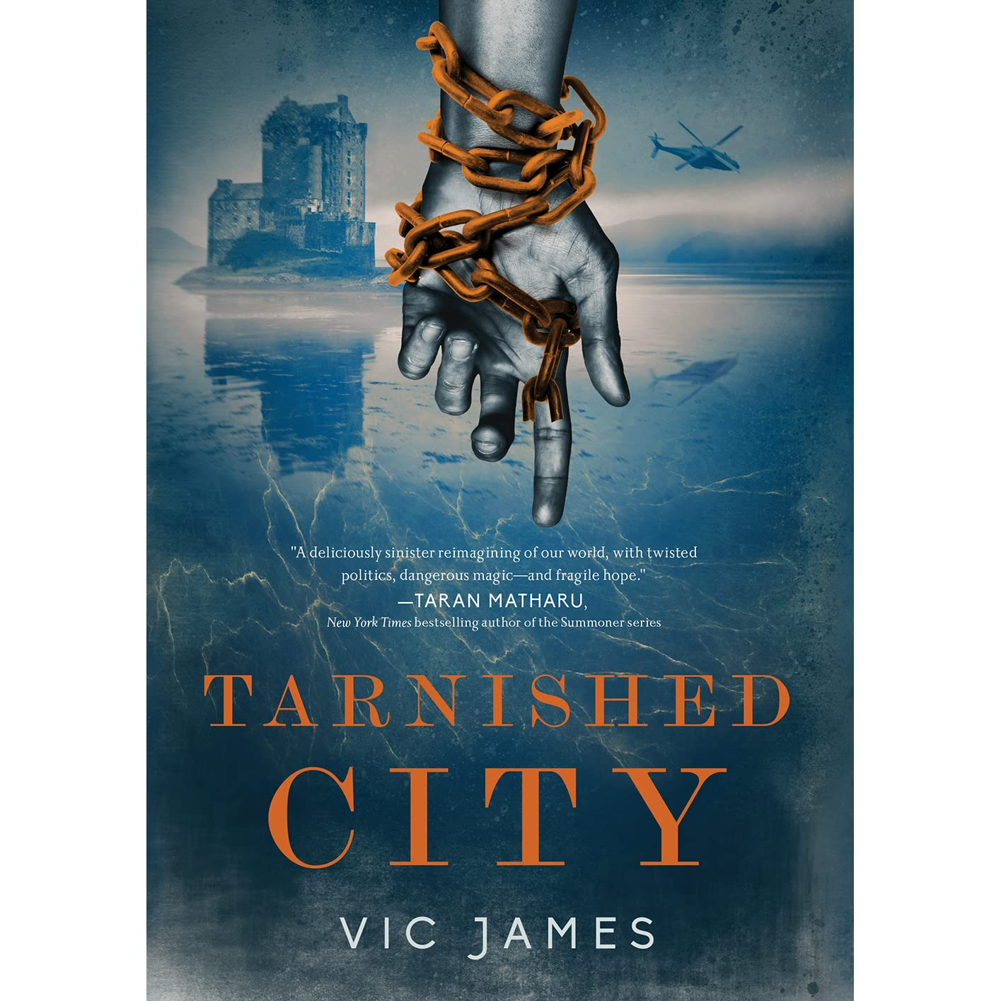 Tarnished City (Dark Gifts, #2) by Vic James