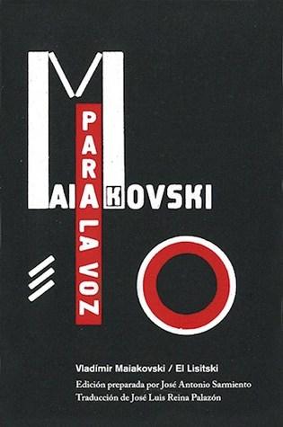 Para la voz Vladimir Mayakovsky, El Lisitsky