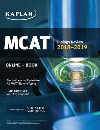 MCAT Biology Review 2018-2019: Online + Book