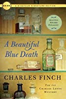 A Beautiful Blue Death (Charles Lenox,  #1)