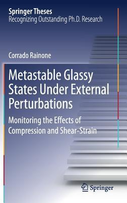 Metastable Glassy States Under External Perturbations: Monitoring the Effects of Compression and Shear-Strain