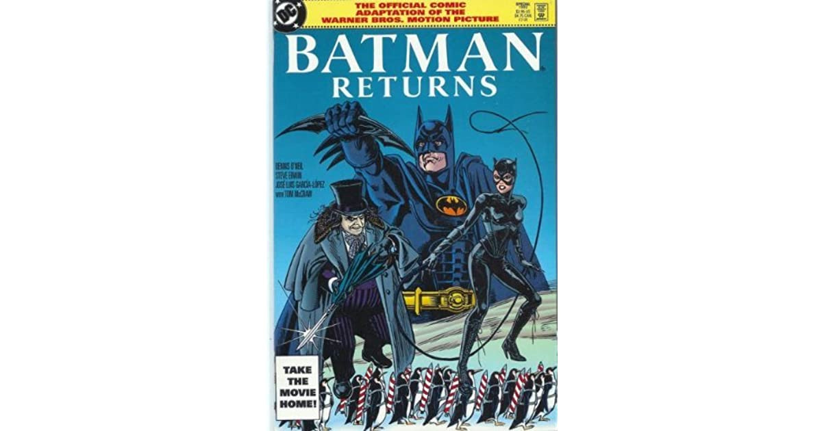Batman Returns Official Movie Adapt DC TPB VFNM O/'neil Garcia-Lopez 1992