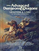 Advanced Dungeons and Dragons Legends and Lore