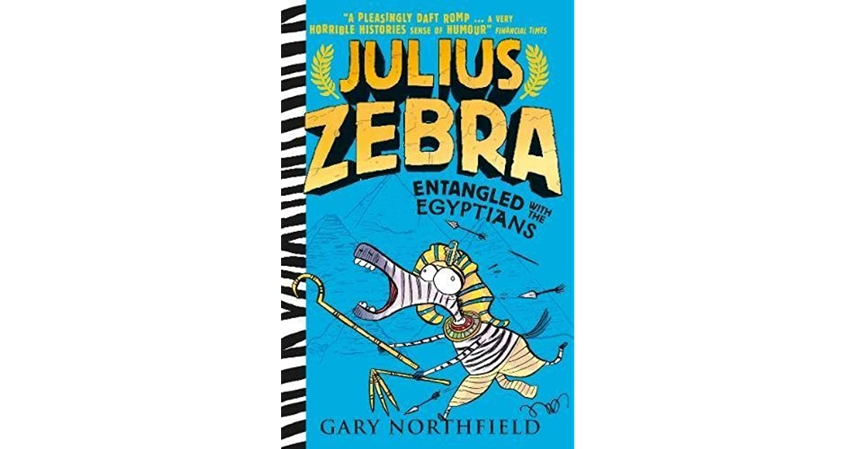 Julius Zebra Entangled with the Egyptians!