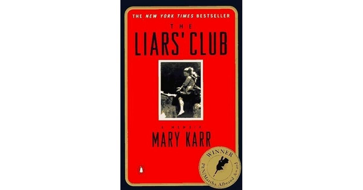 Ebook The Liars Club By Mary Karr