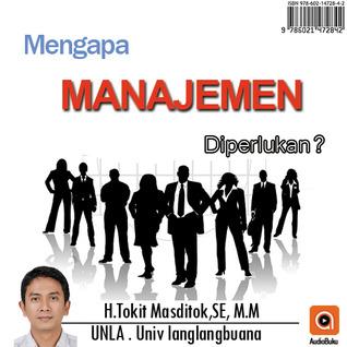 Mengapa Manajemen Diperlukan - Audiobook Indonesia