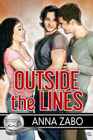 Outside the Lines (Bluewater Bay, #22)