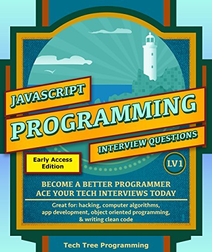 Javascript  Interview Questions & Programming, LV1 - & Interview Questions Series) - Tech Tree Programming