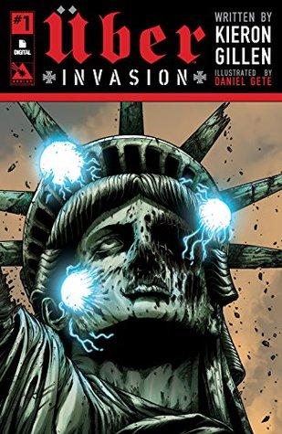 Uber #3 Blitzkrieg Edition Kieron Gillen Avatar Press WWII Super-Hero Fiction