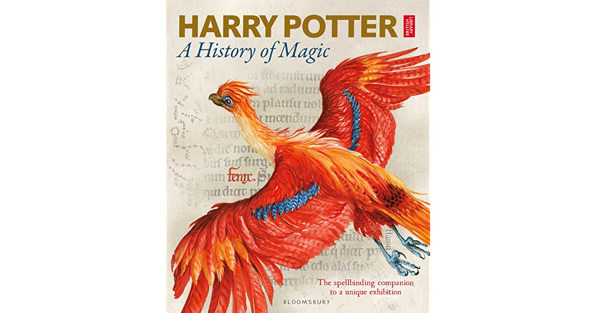 Harry Potter Book Kickass : Harry potter a history of magic by british library