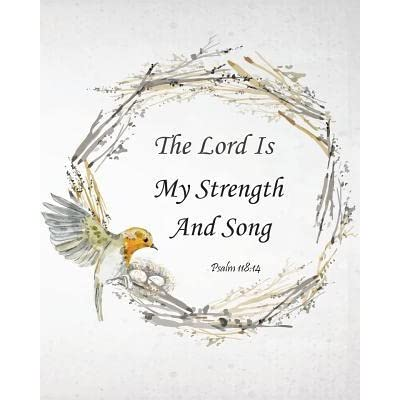 The Lord Is My Strength and Song - Psalm 118: 14: Prayer