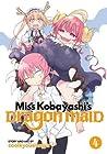 Miss Kobayashi's Dragon Maid Vol. 4 (Kobayashi-san Chi no Maid Dragon, #4)