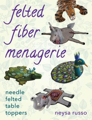 Felted Fiber Menagerie Needle Felted Table Toppers