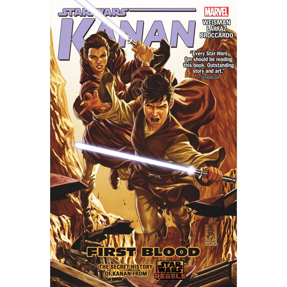 2 Marvel Graphic Novel Comic Book Star Wars Kanan First Blood Vol