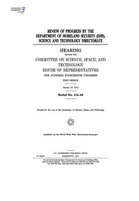 Review of Progress by the Department of Homeland Security (Dhs)