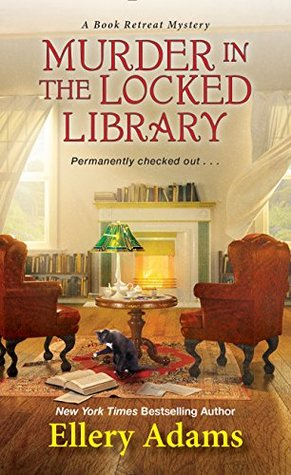 Murder in the Locked Library (Book Retreat Mysteries, #4)