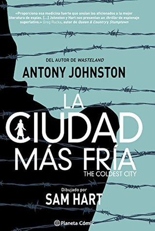 At´mica A Cidade Mais Fria by Antony Johnston