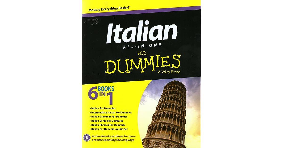 Italian All In One For Dummies By Antonietta Di Pietro