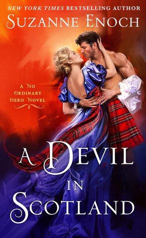 Book cover of, A Devil in Scotland, by Suzanne Enoch