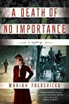 A Death of No Importance (Jane Prescott Mystery, #1)