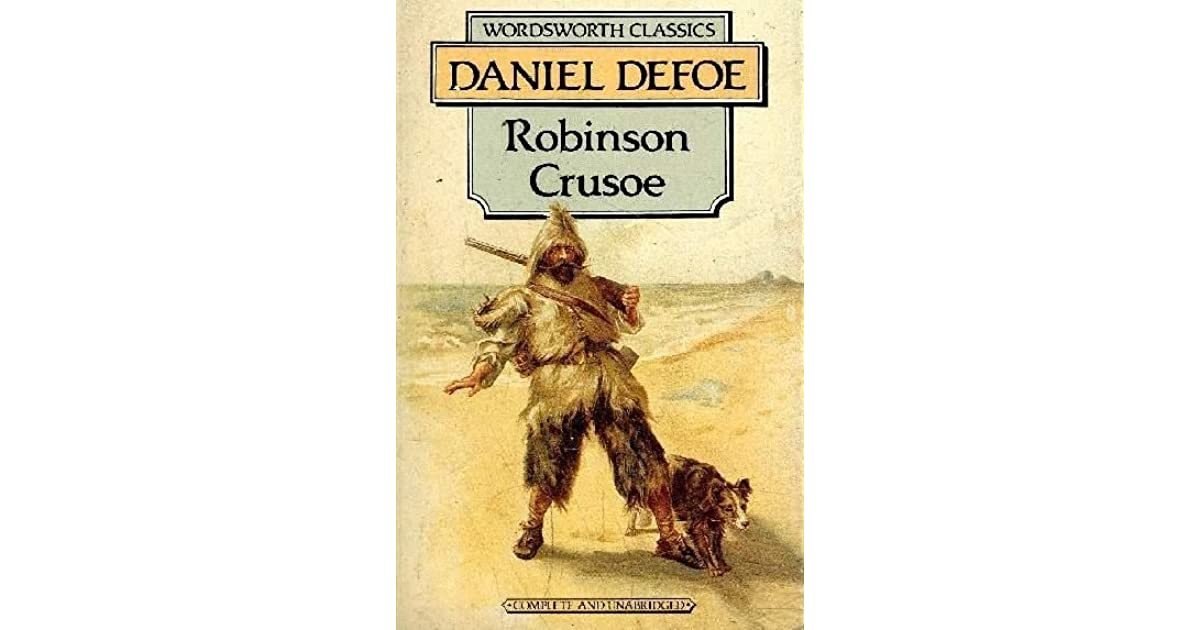 an analysis of self portray in the novel robinson crusoe by daniel defoe And find homework help for other robinson crusoe questions at enotes  as  events open, he appears as lacking a certain degree of moral insight and self  knowledge,  thus crusoe is portrayed as a complex round character who, after  many  are several of the major themes in daniel defoe's novel robinson  crusoe.