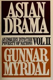 Asian Drama: An Inquiry Into the Poverty of Nations Vol II