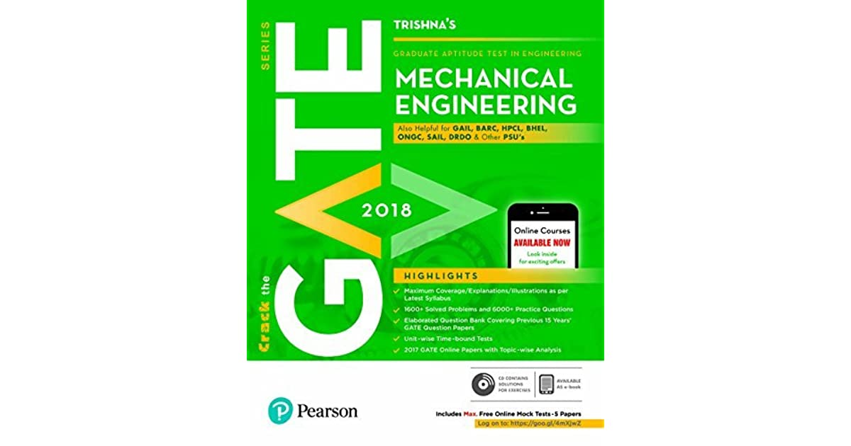 GATE Mechanical Engineering 2018 by Trishna Knowledge Systems