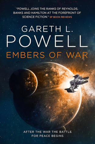 Embers of War Cover by Gareth L. Powell