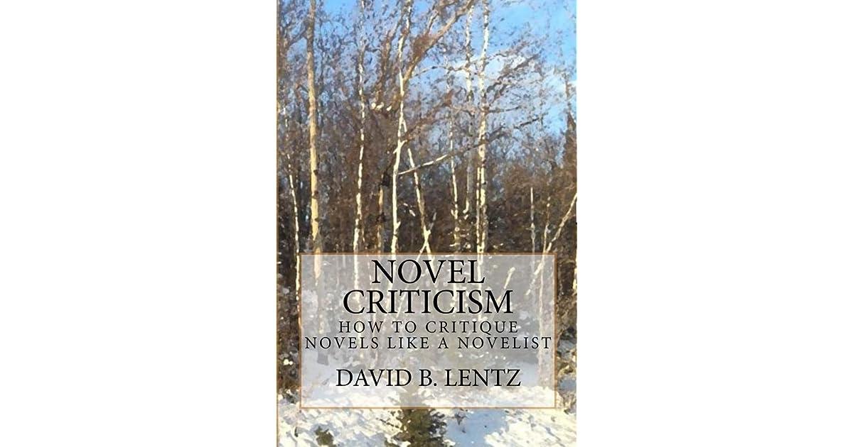 how to critique a novel