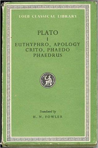 Plato: Euthyphro. Apology. Crito. Phaedo. Phaedrus