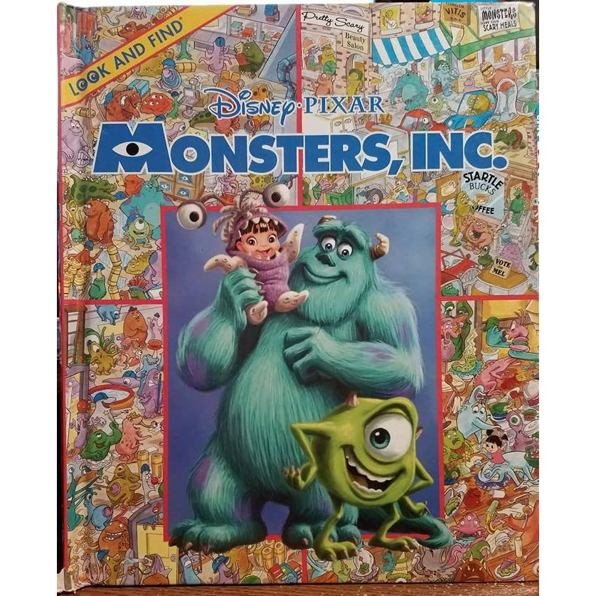Monsters Inc Look And Find By Publications International