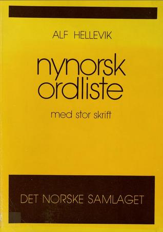 ORDBOK NORSK NYNORSK