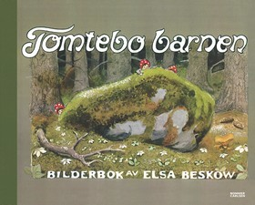Children of the Forest gnomes Fantasy by Elsa Beskow Russian Modern postcard