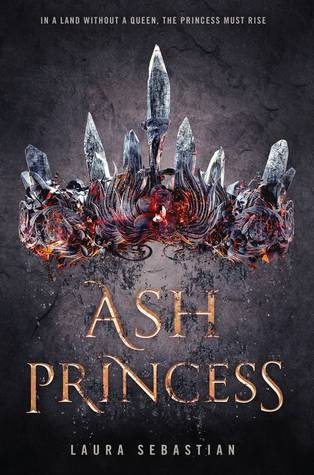 Book cover of Ash Princess by Laura Sebastian