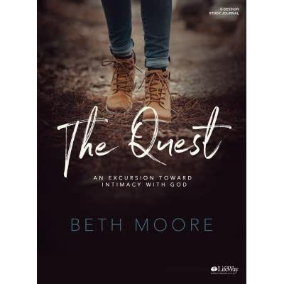 The Quest Study Journal An Excursion Toward Intimacy With