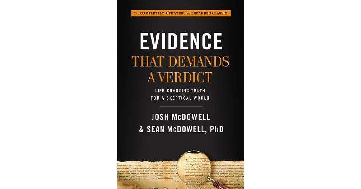 new evidence that demands a verdict pdf
