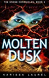 Book cover for Molten Dusk (The Norse Chronicles #3)
