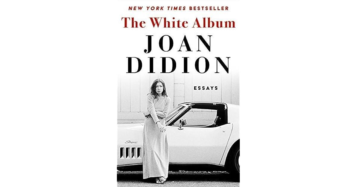 white album didion essay
