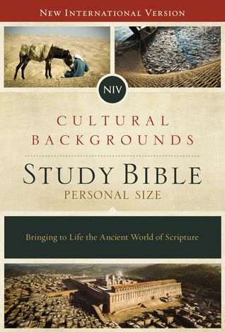 NIV, Cultural Backgrounds Study Bible: Bringing to Life the Ancient World of Scripture (Personal Size, Hardcover, Red Letter Edition)