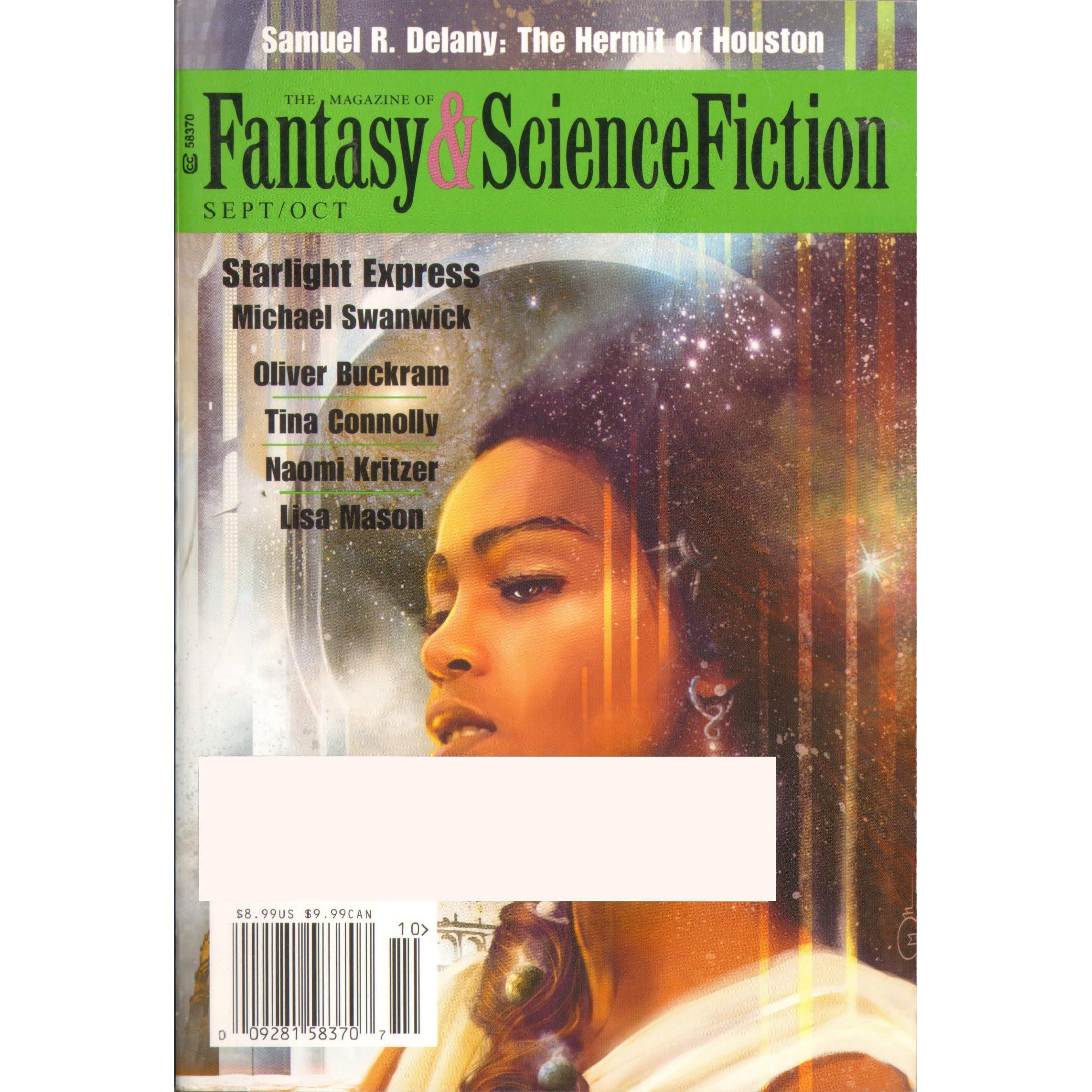 The Magazine of Fantasy & Science Fiction, September/October