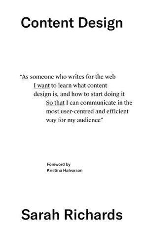 content design by sarah richards