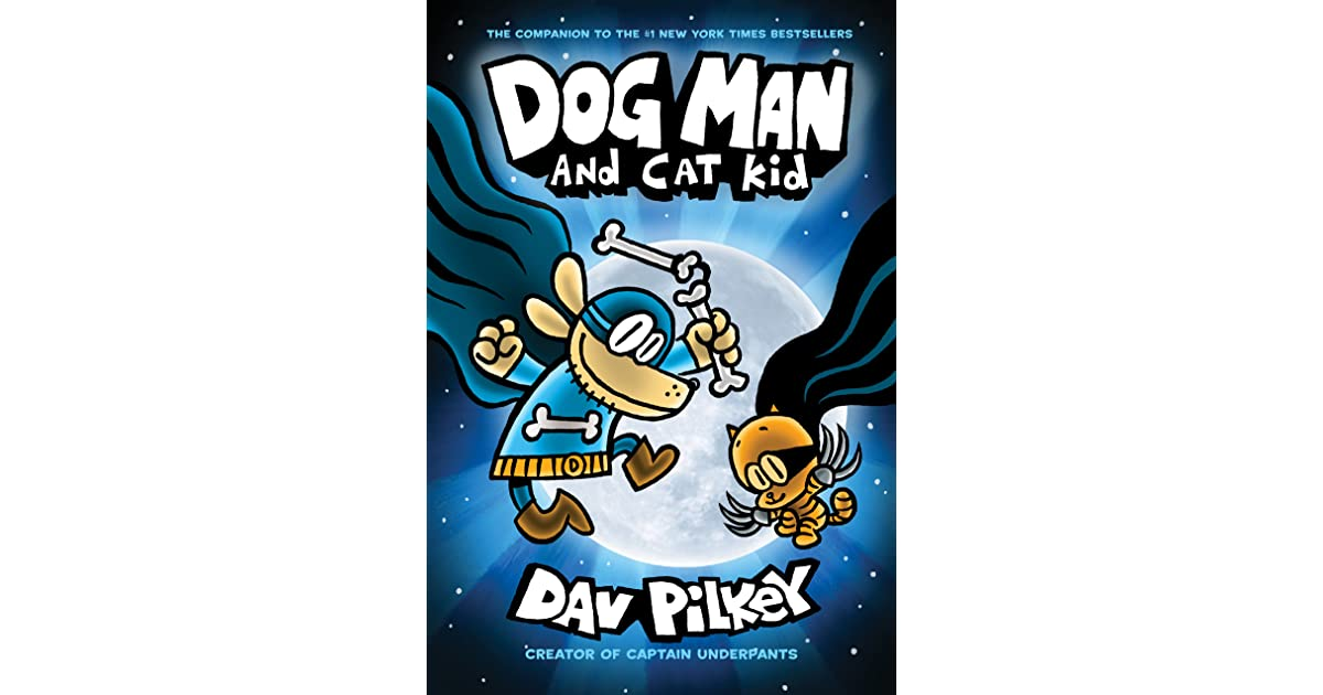 Dog Man And The Cat Kid Book