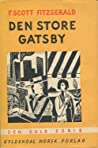 Den store Gatsby by F. Scott Fitzgerald