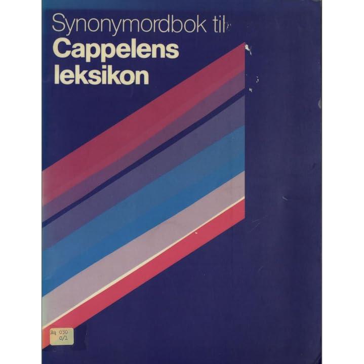 Norsk Synonymordbok