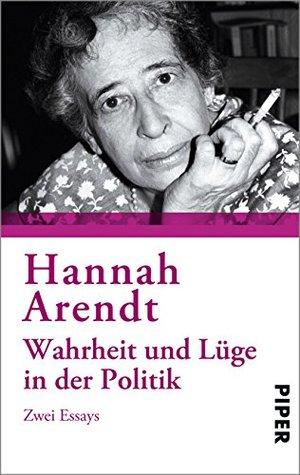 Hannah arendt politische essays thesis suggestions economics