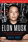 Book cover for Elon Musk: Tesla, SpaceX, and the Quest for a Fantastic Future