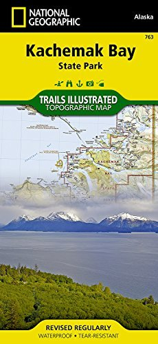 Kachemak Bay State Park National Geographic Maps - Trails Illustrated