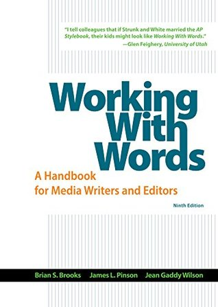 Working With Words by Brian S. Brooks