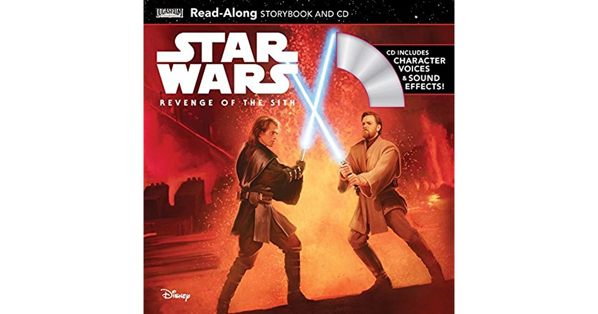 Star Wars Revenge Of The Sith Read Along Storybook And Cd By Walt Disney Company